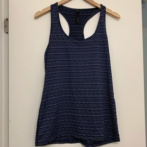 90 Degrees Blue and Gray Tank size XL